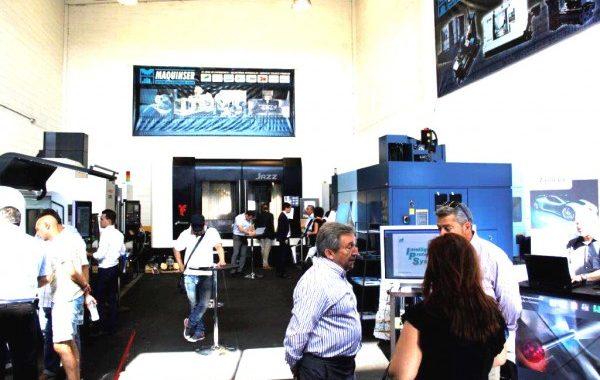 Opentech 5 Ejes En Madrid