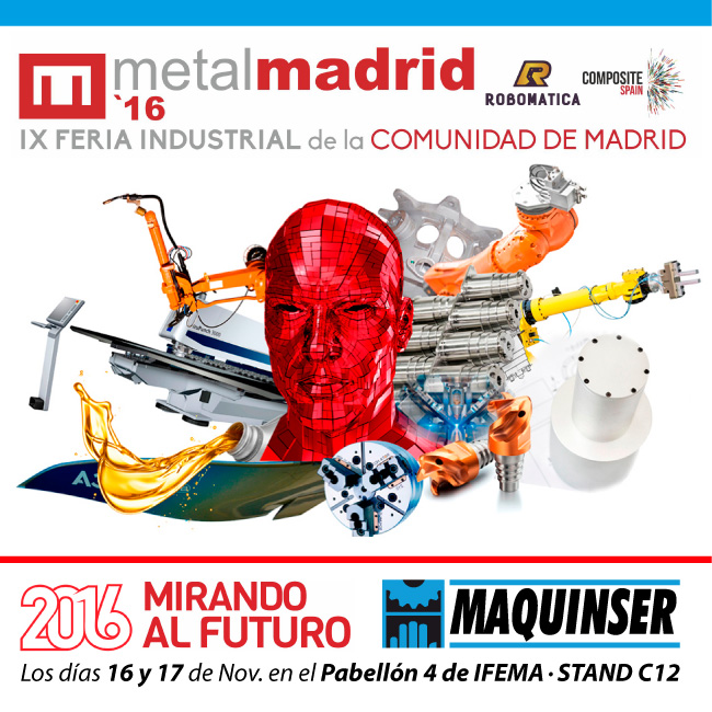 MetalMadrid 2016 – IX Feira Industrial Da Comunidade De Madrid