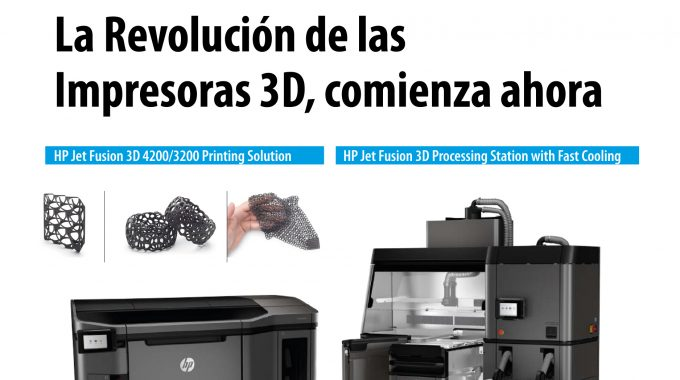 Maquinser, The New 3D HP Jet Fusion