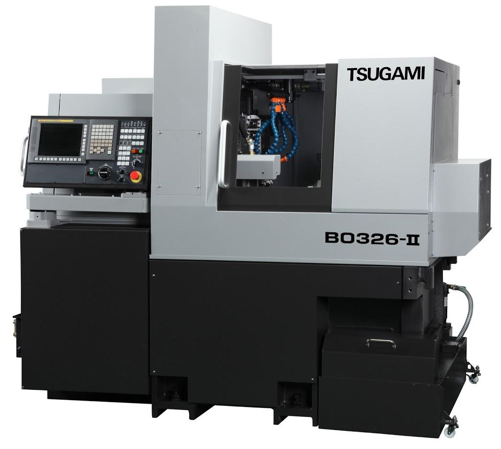 Torno Con Cabezal Móvil Tsugami B0326-II