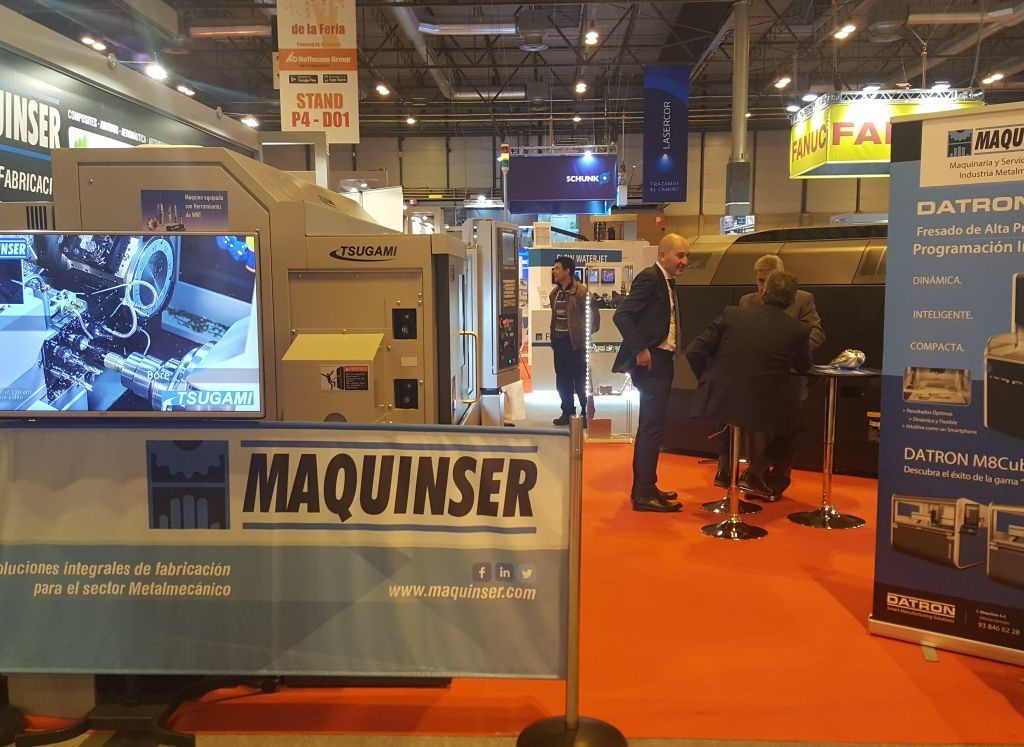 MetalMadrid 2017. Machine Tool Exhibition Of Madrid