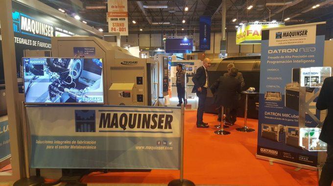 MetalMadrid 2017. Machine Tool Exhibition Of Madrid