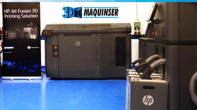 HP Multi Jet Fusion 4200 In Maquinser