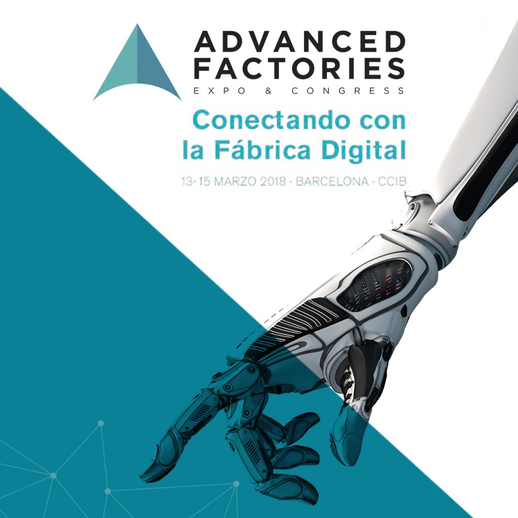 Maquinser Estará En La Advanced Factories 2018 [ Barcelona ]