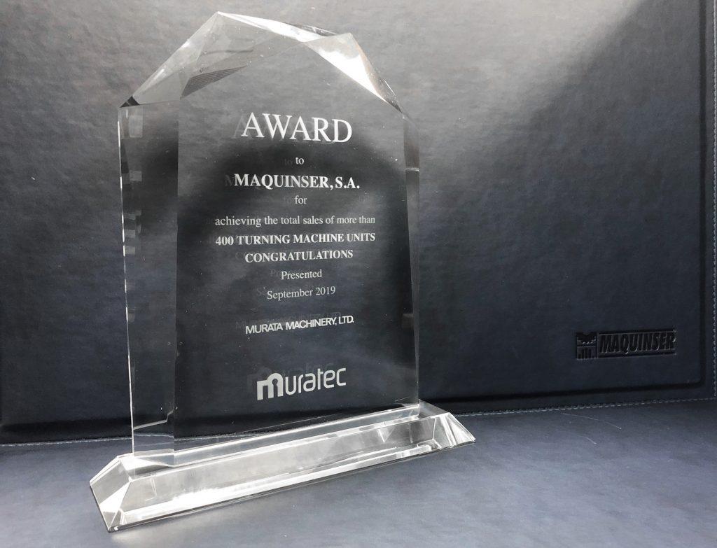 Premio Muratec venta 400 tornos